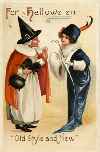 vintage_halloween_witch_chat_image__-_the_graphics_fairy